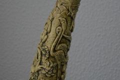 Cuerno imitacion marfil-4