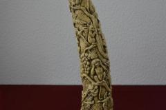Cuerno imitacion marfil-5