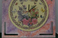 Reloj pintado en madera-3